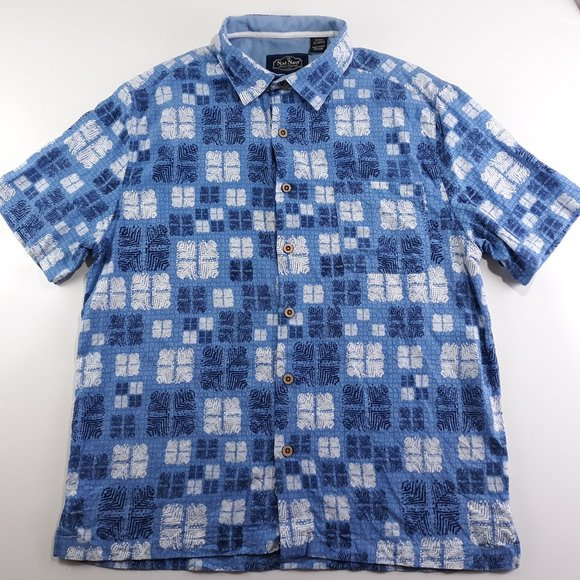 Hawaiian Shirts NWT Nat Nast Men's Silk//Cotton Blend Various Sizes and Patterns